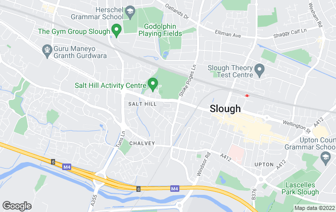 Map for Slough Borough Council, Slough