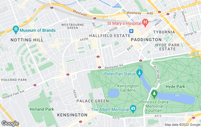Map for Let's Talk Property, London