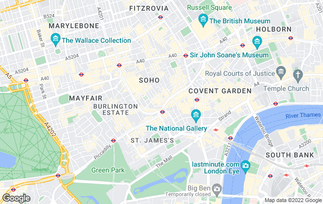 Map for OpenRent, London