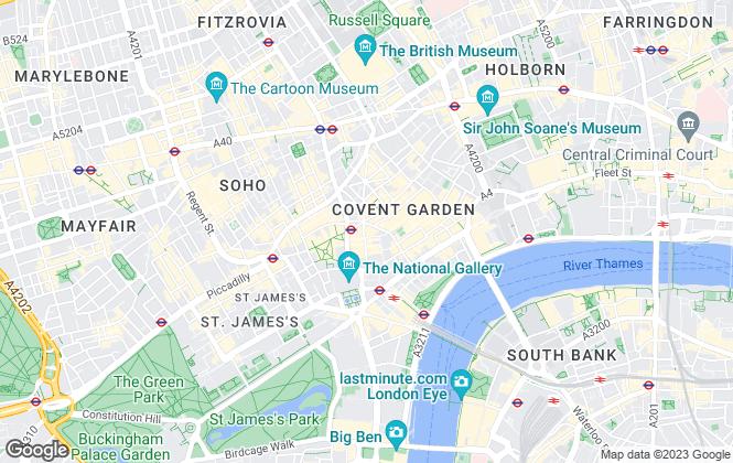 Map for Arbitrage Group Ltd, London