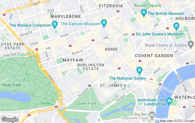 Map for AGL, London