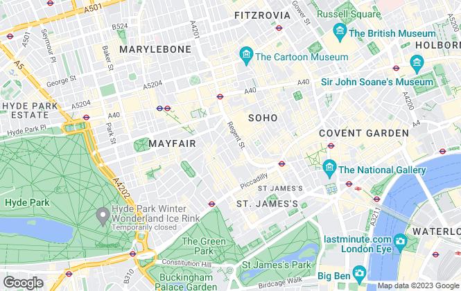 Map for BidX1 Commercial, London