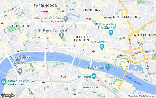 Map for Kinney Green, London