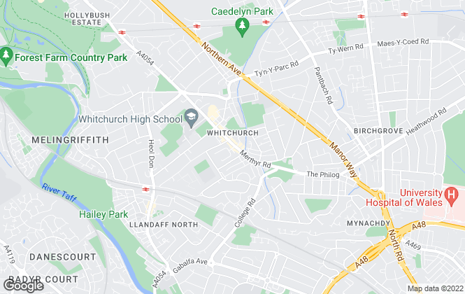 Map for Allen & Harris, Whitchurch