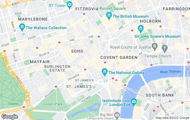 Map for Imperial Dragon Property Management, London