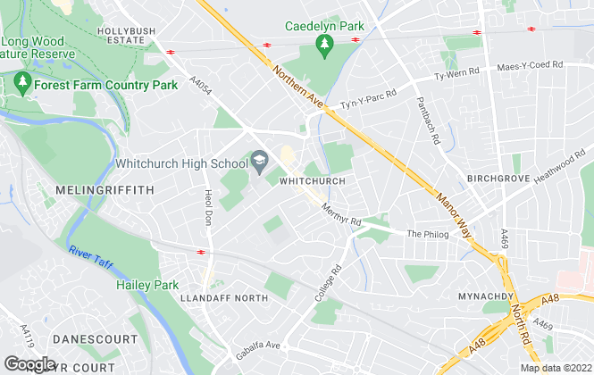 Map for Peter Alan, Whitchurch