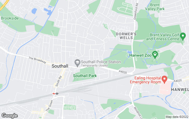 Map for Move Inn Estates, Southall