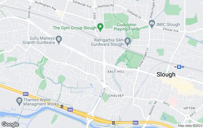 Map for APTUS Estate Agents, Slough