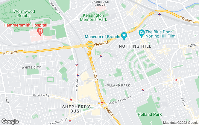 Map for Nathan Andrews Estates, London