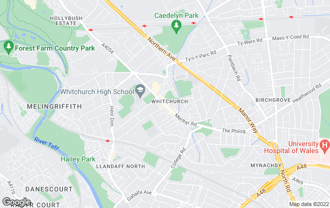 Map for Chambers Estate Agents, Whitchurch