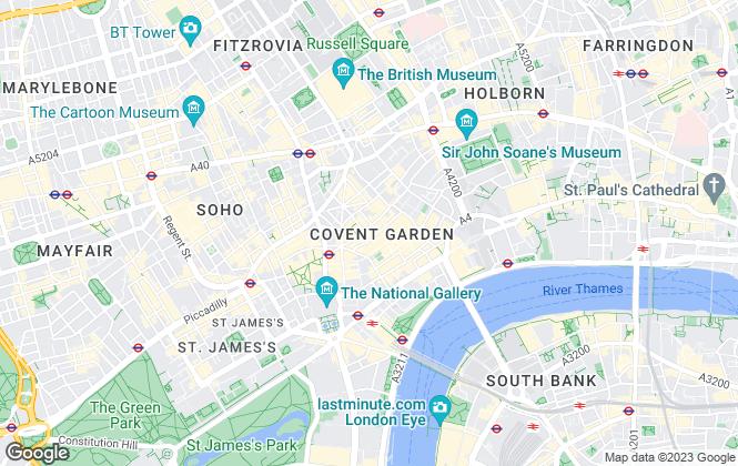 Map for Tavistock Bow, London