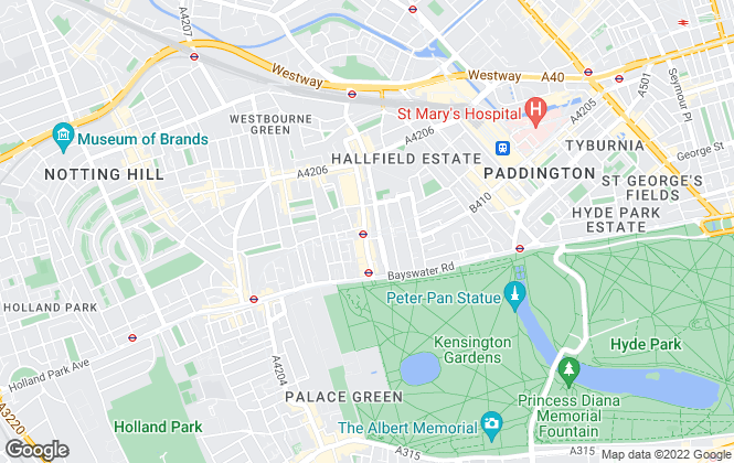 Map for BLUEGROUND FURNISHED APARTMENTS UK LTD, London