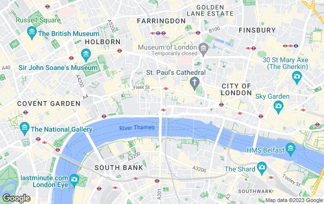 Map for Bentalls Commercial Shopping Centre Ltd, London