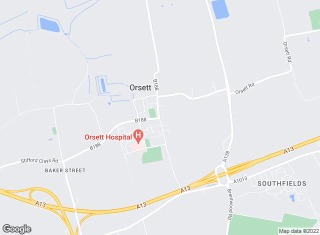 Map for Chandler & Martin, Orsett
