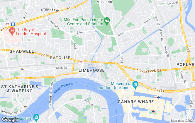 Map for A2Dominion Renting, London