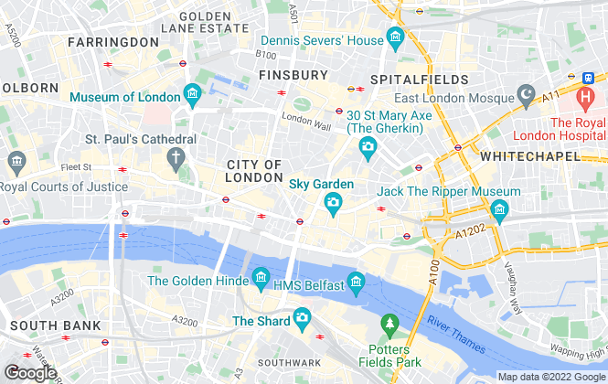 Map for Ferwood Commercial Property Consultants LTD, London