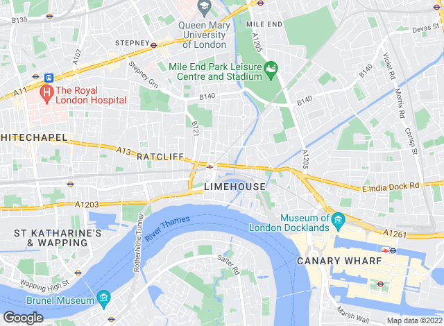 Map for River Habitat Estate Agents, London