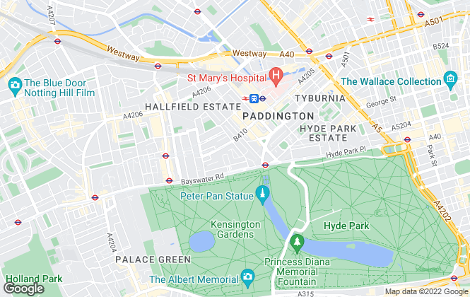 Map for Knight Frank, Hyde Park