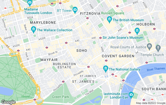 Map for Flexiflat, London