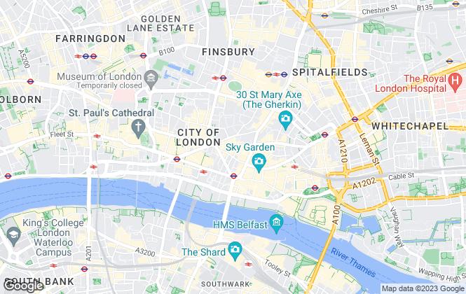 Map for Goldstone Letting & Management Ltd, London