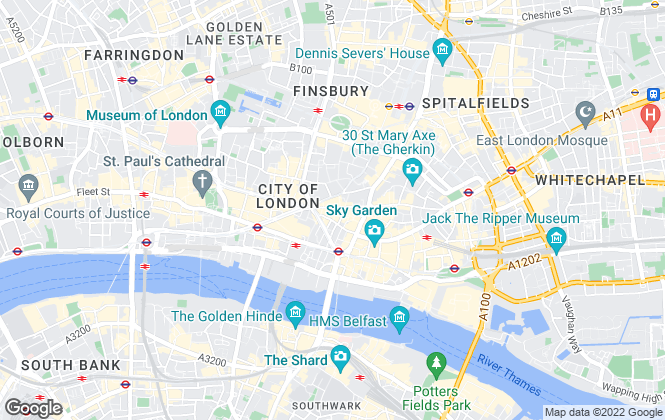 Map for The Chant Group, Moorgate