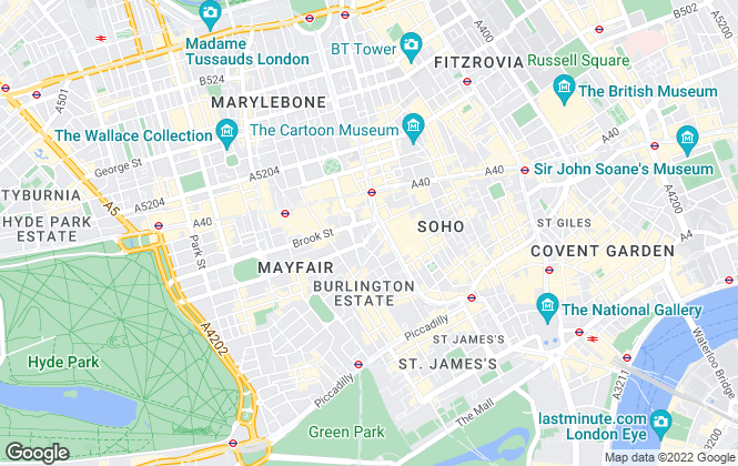 Map for Bloom Property Estate Agents , London