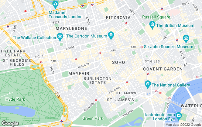 Map for Mason Partners LLP, London