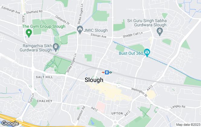 Map for OOGU LTD, Slough