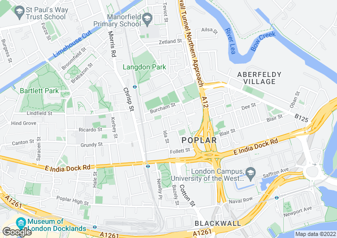 Map for Willis Street