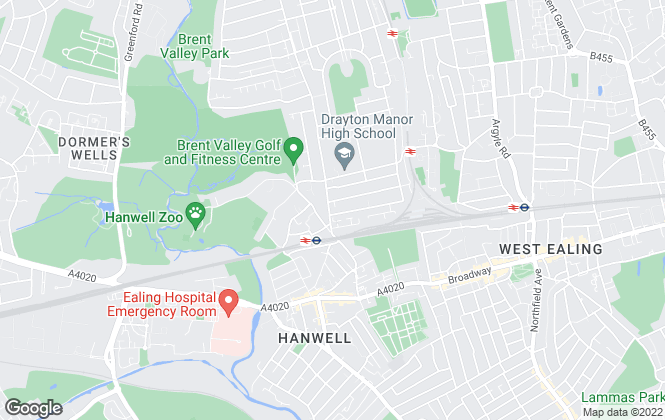 Map for Castle Residential, Hanwell