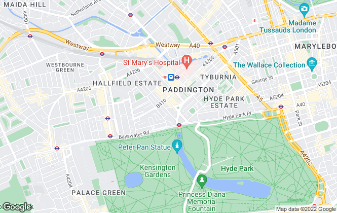 Map for Apple Apartments, London