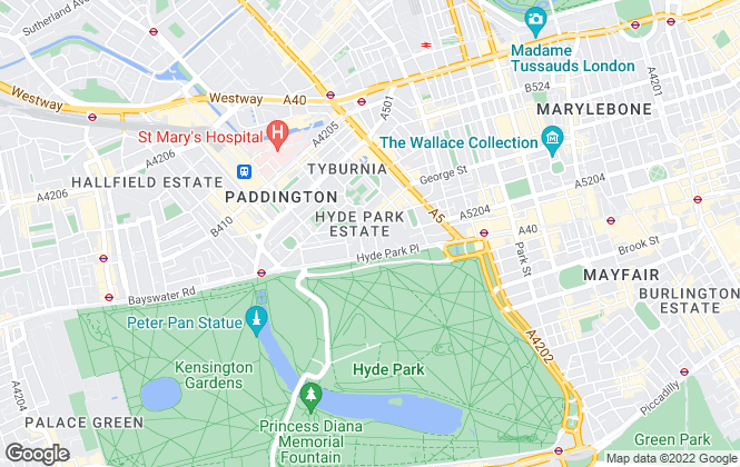 Map for Cluttons LLP , Hyde Park - Lettings