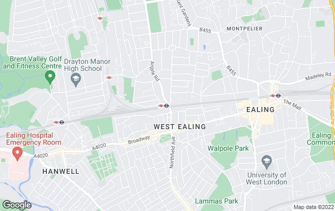 Map for Drayton Properties, West Ealing