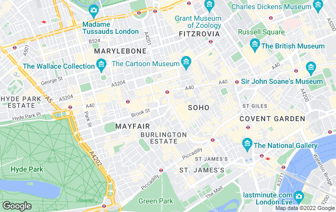 Map for Medway & Law Chartered Surveyors, London