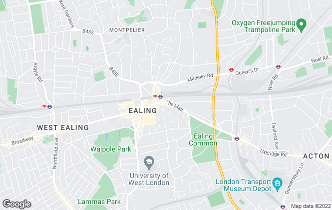 Map for Barnard Marcus, Ealing