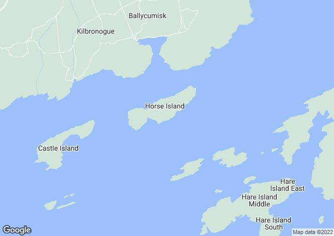 Map for Schull, Cork