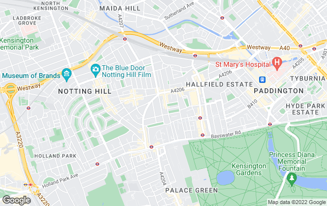 Map for Ross Sloan, Notting Hill