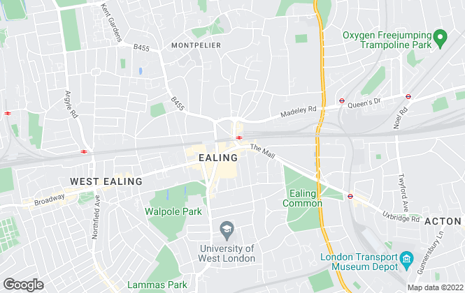 Map for Robertson Smith & Kempson , Ealing - Lettings