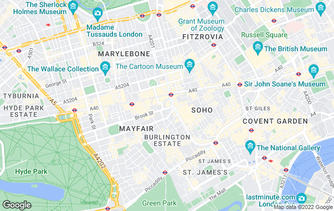 Map for Marchmont Chartered Surveyors, London