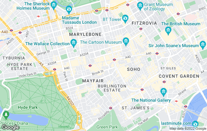 Map for GN2 LLP, London