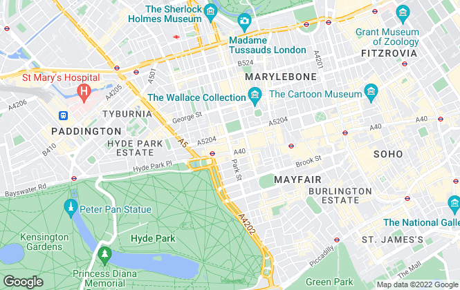 Map for Golden Eagle International, London