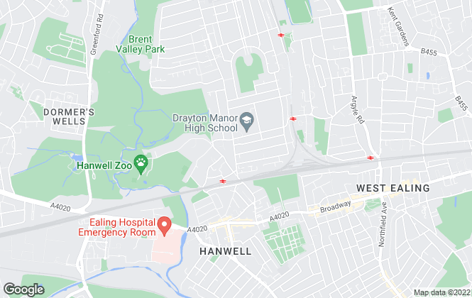 Map for Robertson Smith & Kempson, Hanwell