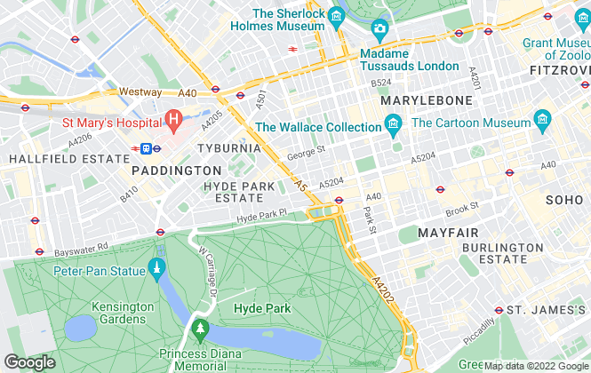 Map for Plaza Estates , Marble Arch