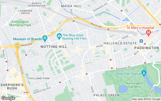 Map for Bective Leslie Marsh, Notting Hill