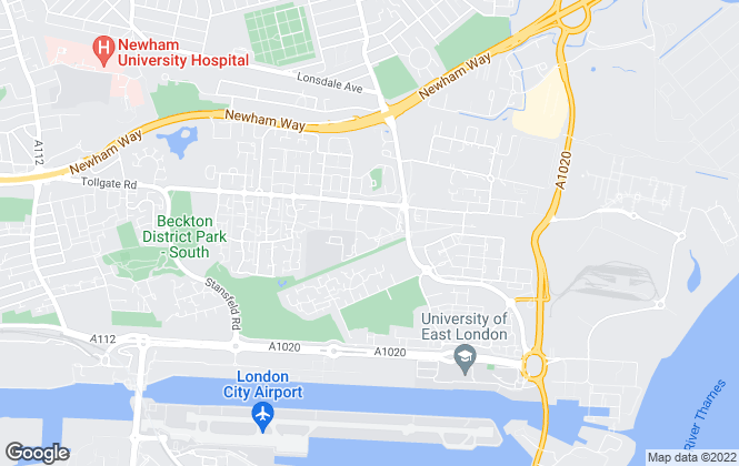 Map for Bryants Estate Agents, Beckton