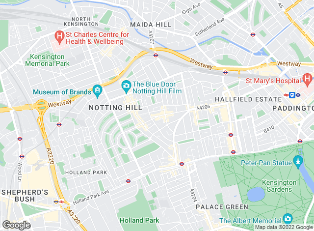 Map for Winkworth, Notting Hill