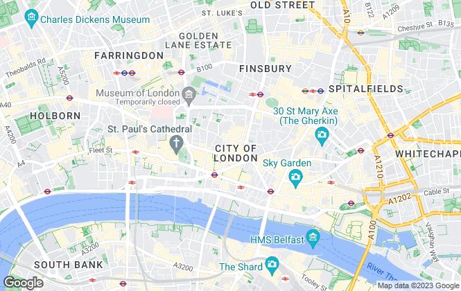 Map for Hilco Global Real Estate Advisory, London