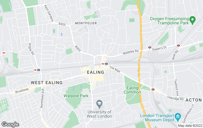 Map for Robertson Smith & Kempson, Ealing