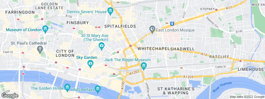 Map for Barratt London