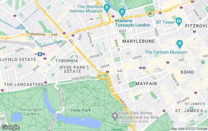 Map for FLEXSPACE, London